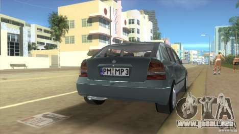 Opel Astra G para GTA Vice City left