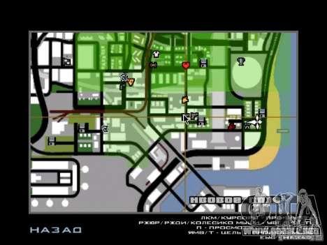 Canciones de la película en la guitarra para GTA San Andreas segunda pantalla