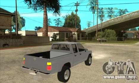 Toyota Hilux CD para la visión correcta GTA San Andreas