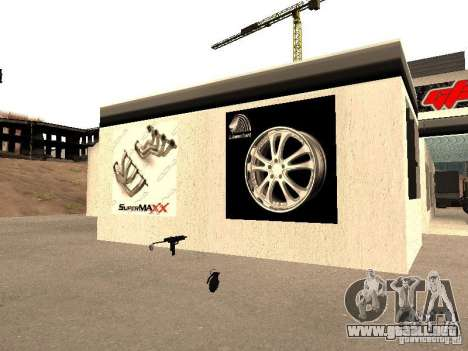 Garaje GRC en SF para GTA San Andreas sexta pantalla