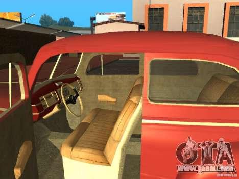 Ford 1940 v8 para la visión correcta GTA San Andreas