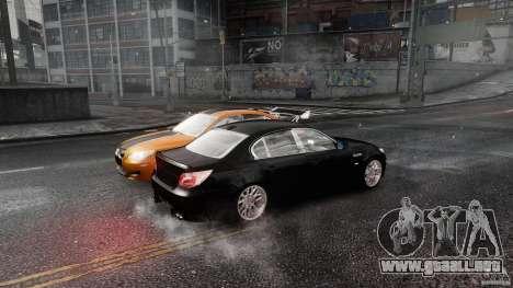 BMW M5 e60 Emre AKIN Edition para GTA 4 vista hacia atrás