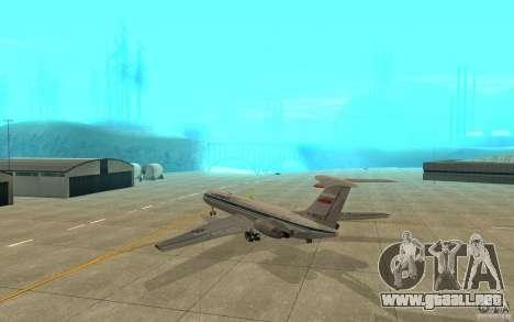 Aeroflot Il-62 m para la visión correcta GTA San Andreas