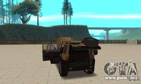 Land Rover Freelander KV6 para visión interna GTA San Andreas