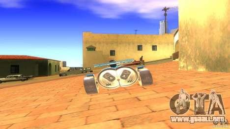 PEPSI car para GTA San Andreas vista posterior izquierda