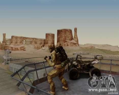 Tom Clancys Ghost Recon para GTA San Andreas séptima pantalla