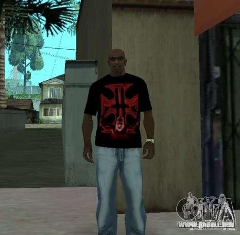 Triple-H t-shirt para GTA San Andreas