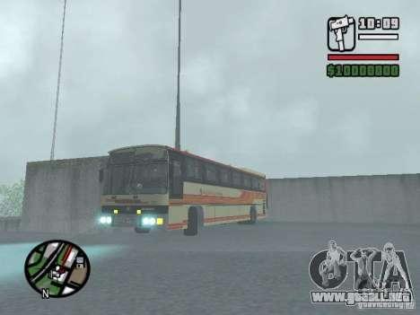 MARCOPOLO III SCANIA 112 para la vista superior GTA San Andreas