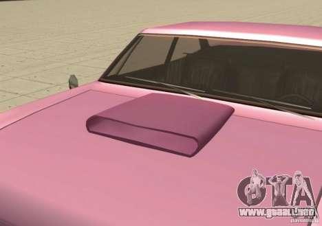 Car Tuning Parts para GTA San Andreas sucesivamente de pantalla