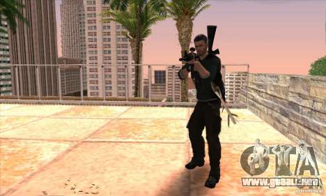 Sam Fisher para GTA San Andreas sexta pantalla