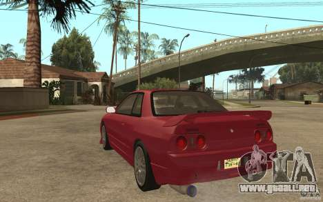 Nissan GTS-T 32 Beta para GTA San Andreas vista posterior izquierda