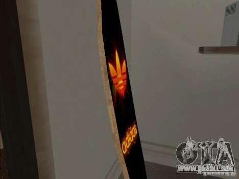 Surf nuevo en la casa de CJ para GTA San Andreas segunda pantalla