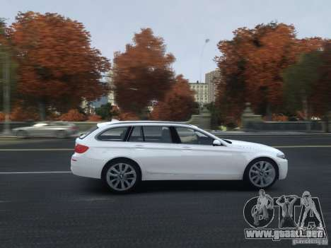 BMW M5 F11 Touring V.2.0 para GTA 4 vista lateral