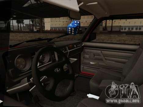 VAZ 21054 para la vista superior GTA San Andreas