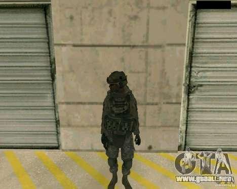 Piel del soldado de CODMW 2 para GTA San Andreas