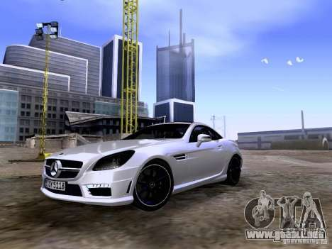 Mercedes-Benz SLK55 AMG 2012 para GTA San Andreas