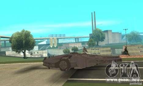 Millenium Falcon! para GTA San Andreas vista posterior izquierda
