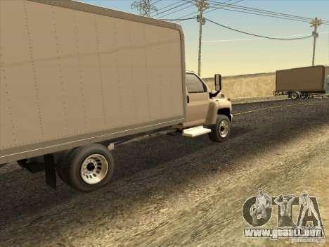 GMC 5500 2001 para la visión correcta GTA San Andreas