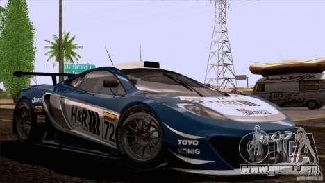 McLaren MP4-12C Speedhunters Edition para las ruedas de GTA San Andreas