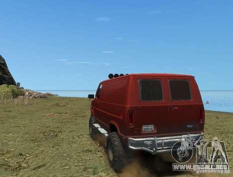Ford Econoline 150 para GTA 4 left