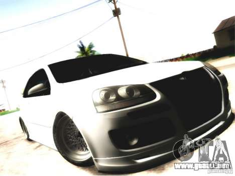 Volkswagen Golf GTI para la visión correcta GTA San Andreas