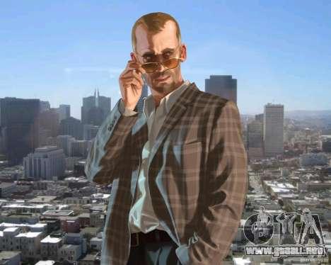 Pantalla de arranque en San Francisco para GTA 4 sexto de pantalla