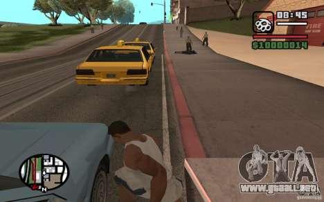 Dagas para GTA San Andreas tercera pantalla