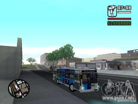 Cobrasma Monobloco Patrol II Trolerbus para GTA San Andreas vista hacia atrás