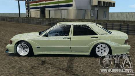 Deportivo Mercedes-Benz 190E 2.3-16 para GTA 4 left