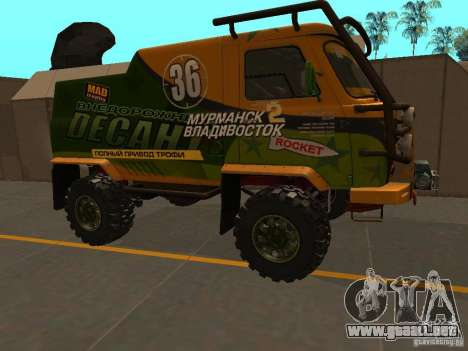 Expedición 2206 UAZ para GTA San Andreas left