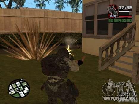 Lokast Grunt de Gears of War 2 para GTA San Andreas tercera pantalla