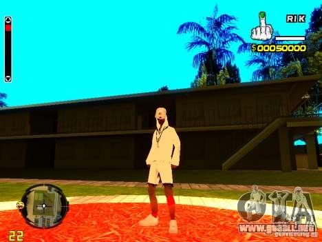 Piel vago v9 para GTA San Andreas tercera pantalla