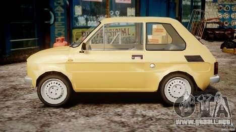 Fiat 126p 1976 para GTA 4 left