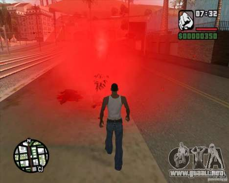 Los transeúntes explota cerebros para GTA San Andreas