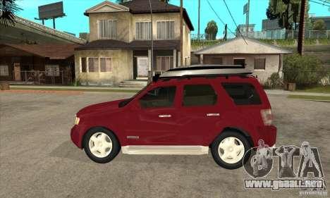 Ford Escape 2009 para GTA San Andreas left