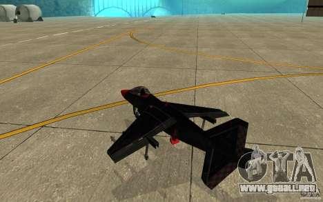 Black Hydra v2.0 para la visión correcta GTA San Andreas