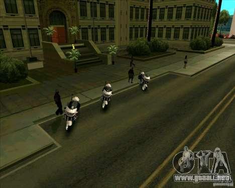 Priparkovanyj transporte v 3,0-Final para GTA San Andreas quinta pantalla