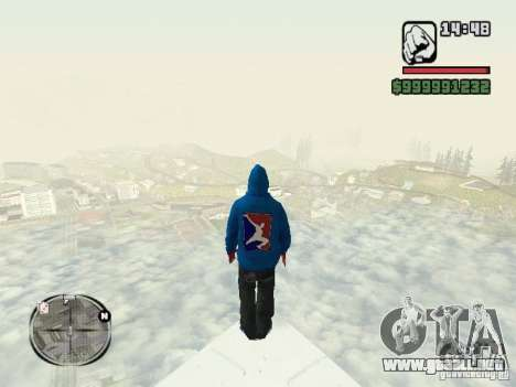RunMan para GTA San Andreas segunda pantalla