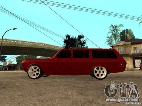 GAZ 24-12 para GTA San Andreas left