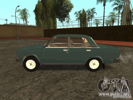VAZ 2105 v. 2 para GTA San Andreas left