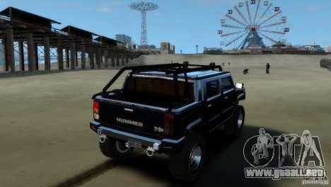 Hummer H2 4x4 OffRoad para GTA 4 left