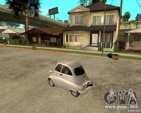 BMW Isetta para GTA San Andreas left