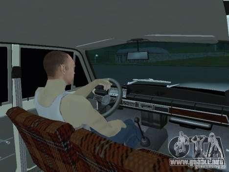 Chicos blancos VAZ 2101 para GTA San Andreas vista posterior izquierda