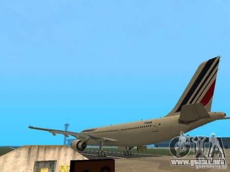 Airbus A300-600 Air France para la visión correcta GTA San Andreas