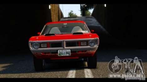 Dodge Demon 1971 para GTA 4 vista lateral