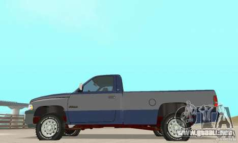 Dodge Ram 2500 1994 para la visión correcta GTA San Andreas