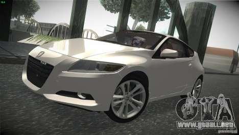 Honda CR-Z 2010 V1.0 para GTA San Andreas left