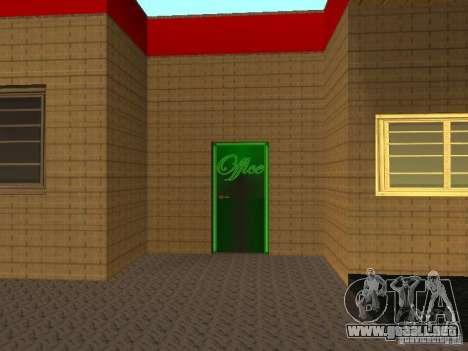 El garaje de Ferrari en Dorothy para GTA San Andreas tercera pantalla