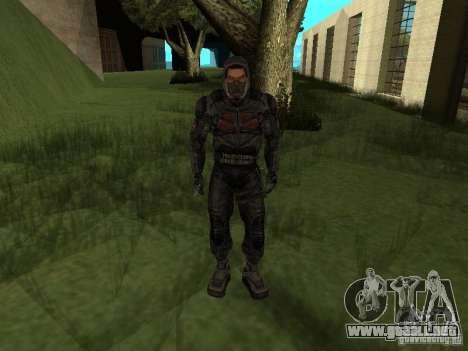 Miembro considera de S.T.A.L.K.E.R. para GTA San Andreas