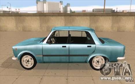 Fiat 125p para GTA San Andreas left